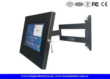 Samsung Galaxy Ipad Kiosk Stand , Tablet Kiosk Enclosure Wall Mounted