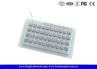 Vandal Proof IP65 Mini USB full metal keyboard for Self Service Terminal