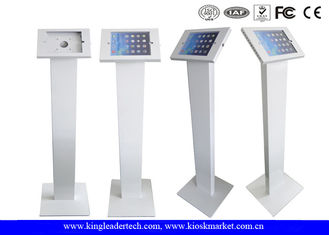 Freestanding iPad Kiosk Stand Enclosure With Lockable Mechanism Design