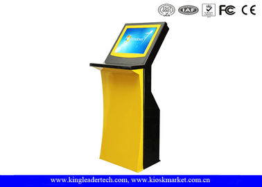 Stylish Airport Information Checking Self Service Touch Screen Kiosk In 19Inch Screen Size